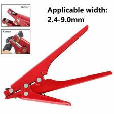 Suitable Nylon Cable Zip Tie Tension Fasten Tightener Cutter Tool Gun Adjustable