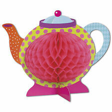 Storybook Mad Hatter Children's Tea Party Honeycomb Table Centrepiece Decoration