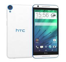 """Débloqué Téléphone 5.5"""" HTC Desire 820 Dual SIM 13MP 16GB 4G LTE -Blanc and Bleu"""