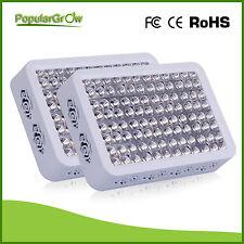 2pcs PopularGrow300W Full Spectrum  LED Grow Light Hydro medical Veg Flower lamp