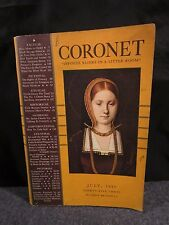 Coronet July 1937 David A Smart Pub. Garden Of Eden Javanese Masks & More!
