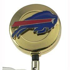 Buffalo Bills Badge Reel Retractable ID Card Holder Security Pass Lanyard