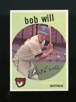 1959 Topps BB Card #388 Bob Will Chicago Cubs NM-MT OR BETTER