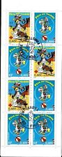 2003 LUCKY LUKE (CARTOON CHARACTER) SG 3883-4 CSB52 BOOKLET 46c X 5 46+9c USED.