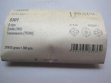 Wholesale pack Swarovski Crystal Beads ERNITE TRANSMISSION #5301 6mm Pretty!