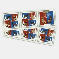 US MILITARY WORKING DOGS 2019 SCOTT #5405-5408 VF 4 DIFFERENT FOREVER STAMP PANE