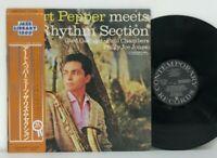 Art Pepper - Meets The Rhythm Section LP 1979 Japan Contemporary Jazz Bop w/ obi