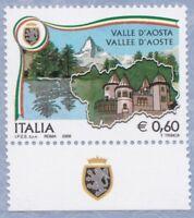 ITALIA Regioni d'Italia Valle d'Aosta Anno 2008 MNH**