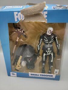 Fortnite SKULL TROOPER DELUXE 7-INCH ACTION FIGURE - McFarlane Toys Box Damage