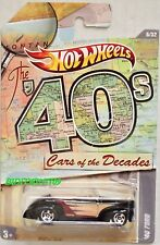 HOT WHEELS THE '40S CARS OF THE DECADES '40 FORD #6/32