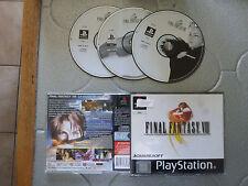jeu playstation ps one final fantasy 8 manque le cd 1
