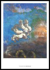 Odilon Redon le Char D 'Apollon poster immagine stampa d'arte nel quadro in alluminio in Nero