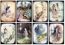 Fantasy Fairies  ~ Card Making Toppers / Scrapbooking / Crafting