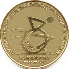 33 TALENCE HANDISPORT REVERS PESSAC MONNAIE DE PARIS 2007 JETON MEDALS COINS