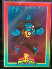 "1994 POWER RANGERS SERIES 1 POWER FOIL CARD #3 ""SQUATT"" COLLECT-A-CARD"