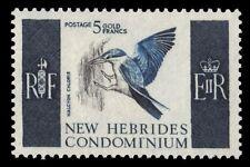BRITISH NEW HEBRIDES 107 (SG109) - White-collared Kingfisher (pf61593)