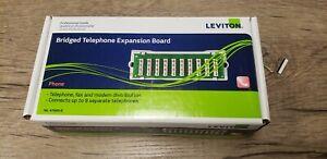 Leviton 47689-B 1x9 Bridged Telephone Module Expansion Board New–Free Shipping!