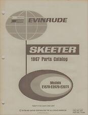 1967 EVINRUDE SKEETER  P/N 112688 SNOWMOBILE PARTS MANUAL (008)