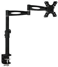 Mount-It! MI-705 Single Monitor Articulating Adjustable Height Desk Mount Clamp