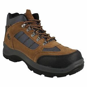 MENS HI TEC LACE UP STEEL TOE CAP WATERPROOF SAFETY WORK BOOTS SAFEHIKE MID