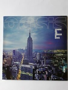 OASIS, STANDING ON THE SHOULDER OF GIANTS, VINYL  LP RECORD, NR MINT ,ORIGINAL