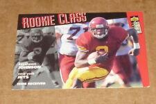1996 UPPER DECK COLLECTORS  KEYSHAWN JOHNSON ROOKIE FOOTBALL CARD #1