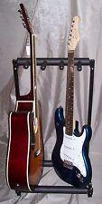 ROCKSTONE Supporto per 3 Chitarre.GUITAR STAND x chitarra,basso 3 Posti