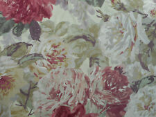 Zoffany Curtain Fabric 'Rose Absolute' 1 METRES (100cm) Antique - 100% Wool