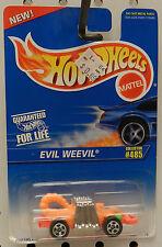MONSTER EVIL WEEVIL 485 ORANGE 1996 95  HW HOT WHEELS