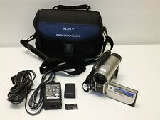 Sony Handycam Dcr-Dvd650 Hybrid Digital Video Camcorder 60x Optical Zoom Bundle