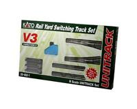Kato 20-862-1, N Scale, V3 UniTrack Rail Yard Switching Set - 208621