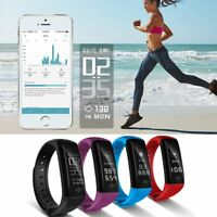 Wristband Smart Watch Bracelet Heart Rate Steps Fitness Tracker For LG Android