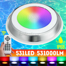 531LED RGB Underwater Swimming Pool  IP68 Remote Control Fountain