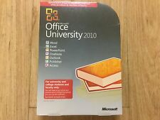MICROSOFT OFFICE PROFESSIONAL UNIVERSITY 2010 32/64-Bit (RETAIL LICENSE 3 PC'S