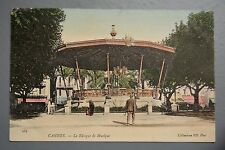 R&L Postcard: France Cannes Le Kiosque de Music, Bandstand, ND