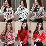 New Women Spring Long Sleeve Business Formal Work Career Office Shirt Top Blouse