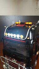 1/14 Tamiya Rc Truck Mercedes Roof Lightbar Actros