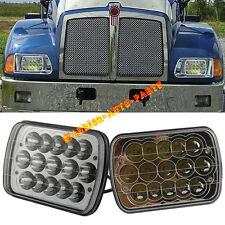 For Kenworth T300 LED Headlights Headlamps High/Low Beam Bulb Kit 1997-2010 2PCS