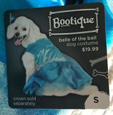 BOOTIQUE Bell Of The Ball Dog Costume Blue Dress Princess Sz Small S NEW NWT