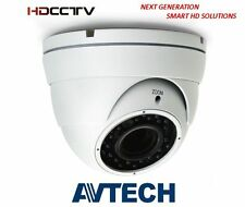 Avtech DG206 HD-TVI 1080P 2.8mm-12mm Varifocal Lens IR Dome Camera IP66 Rated