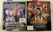 Essential DOCTOR WHO UK Magazine DAVROS & Other VILLAINS Masterminds MEGALOMANIA
