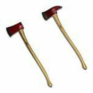 Nupla Hickory Handle Axe - Pick Head or Flat Head