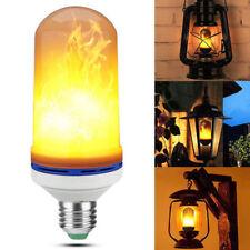 10W E26 E27 LED Fackel Feuer Lampe Flammen Effekt Glühbirne Flickering Licht