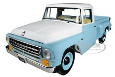 INTERNATIONAL C1100 PICKUP TRUCK BLUE WITH WHITE TOP 1/25 CAR FIRST GEAR 40-0421