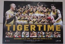 RICHMOND TIGERS 2017 AFL PREMIERS OFFICIAL LIMITED EDITION PRINT #19 / 1000