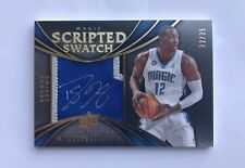 2008-09 DWIGHT HOWARD UD Exquisite Scripted Swatch Auto Signed Patch 22/25 SP