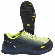 Caterpillar Expedient P90819 Mesh Composite Toe Work Shoes USA Men's Size 8W