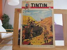 JOURNAL DE TINTIN N°13 4EME ANNEE BE/TBE 1949