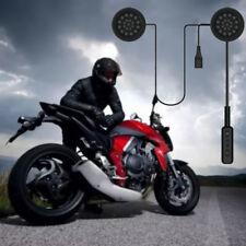 Motorcycle Helmet Headset Phone Bluetooth Hands-Free Microphone Call Control kit