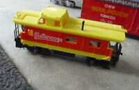 Vintage HO Scale Tyco Chattanooga Caboose Car